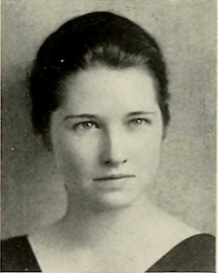 Alice yearbook head shot 1936