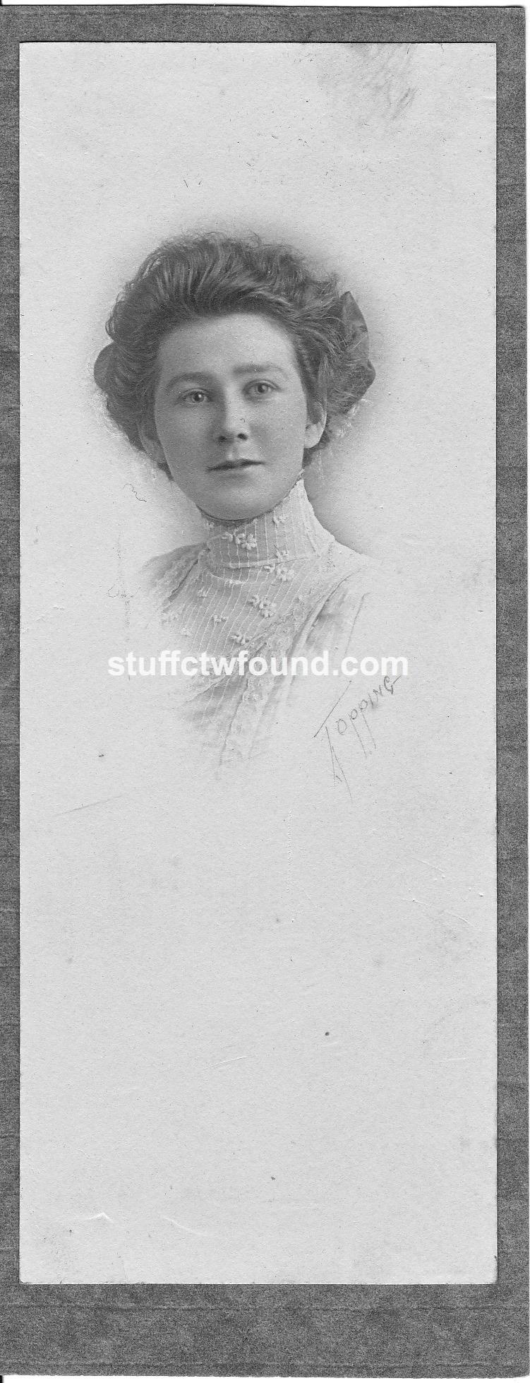 Doris Cecil Dinwiddie 1893 front
