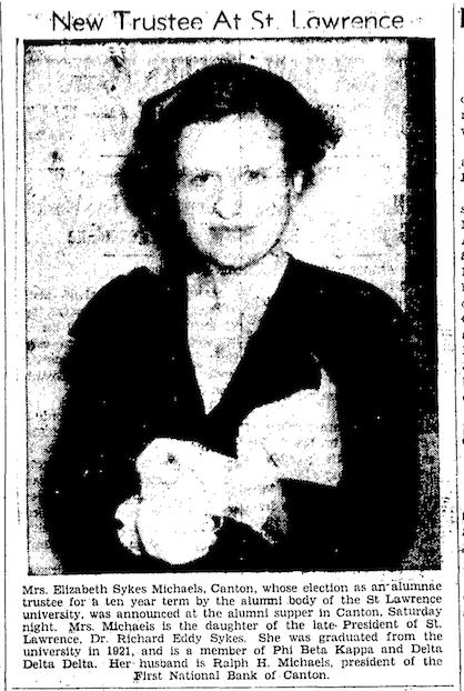 19450628 ESM Newspspaper Photo