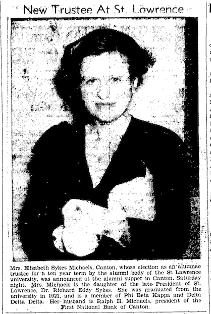 19450628 ESM Newspspaper Photo