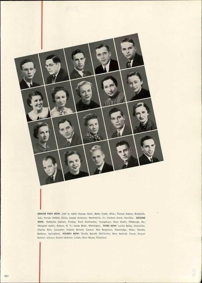 19370101 Charles Bain at Miami U