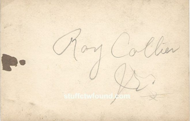 Roy Collier Jr baby back
