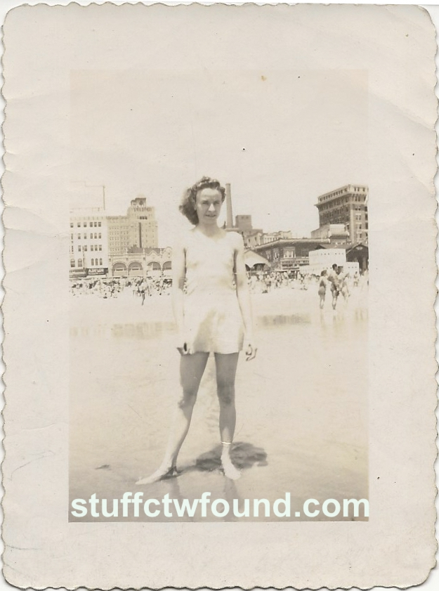 Ruth Collier bathing suit front
