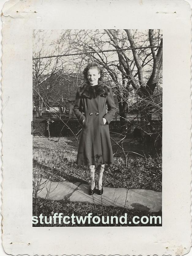Ruth in Coat front